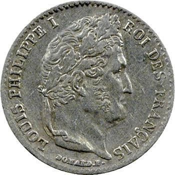 Louis-Philippe Ier, 1/4 franc, 1840 Paris