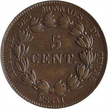 Louis-Philippe Ier, essai de 5 centimes, refonte des monnaies de cuivre, 1840 Paris