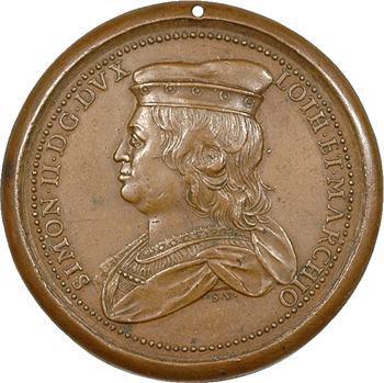 Lorraine : Simon II (1140-1207) et Ide de Vienne, par Saint-Urbain, s.d. Nancy