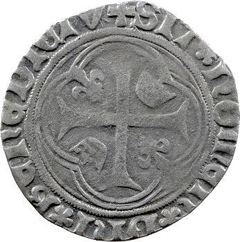 Charles VIII, blanc à la couronne, Montélimar