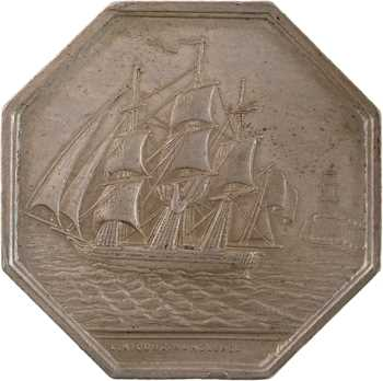 Marseille, Compagnie d'assurances maritimes de Marseille, par Ricoux, s.d. (1845-1860) paris