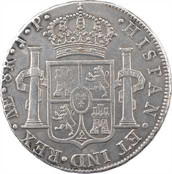Pérou, Ferdinand VII, 8 réaux, 1815 Lima
