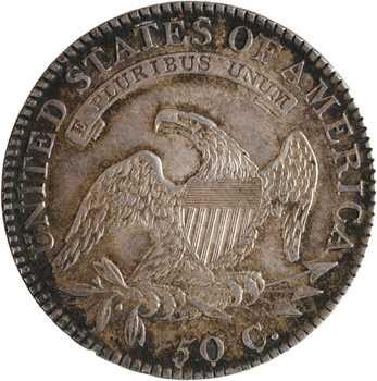 États-Unis, 50 cents ou demi-dollar Capped bust, 1818 Philadelphie