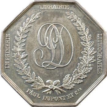 IIe République, imprimerie-librairie Paul Dupont, s.d. (1845 – 1860)