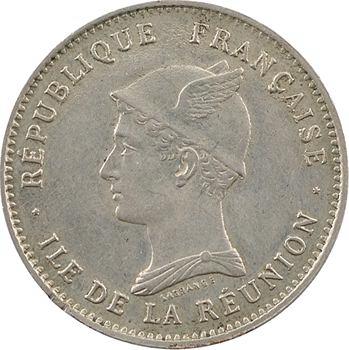 Réunion (île de la), 50 centimes, 1896 Paris