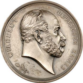 Allemagne (Empire Allemand), 25e anniversaire de la proclamation de l'Empire à Versailles, 1871-1896
