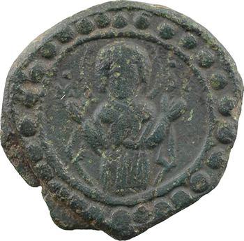 Romain IV ou le XIe siècle, follis anonyme, classe G, Constantinople, s.d. (c.1068-1071)