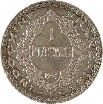 Indochine, 1 piastre, 1931 Paris