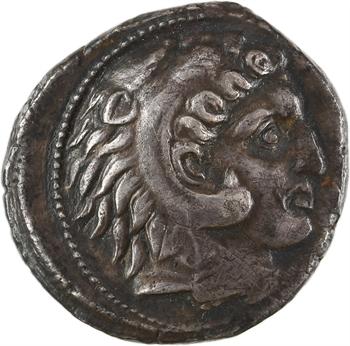 Sicile, Siculo-puniques, Carthaginois en Sicile, tétradrachme, 320-290 av. J.-C.