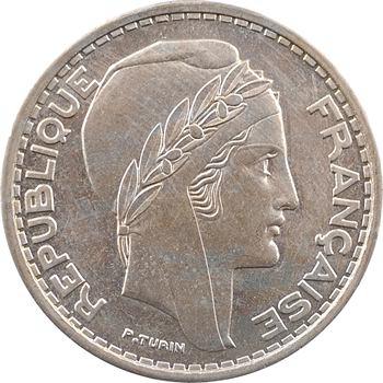 Algérie, essai-piéfort de 50 francs, 1949 Paris