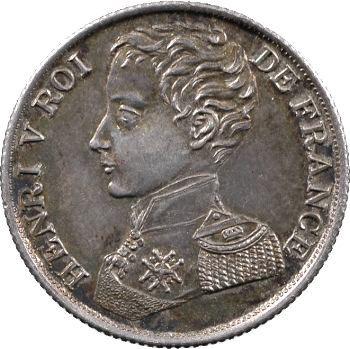 Henri V, 1 franc, 1831