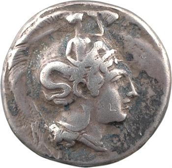 Lucanie, Thurium, statère signé par Molossos, c.400-350 av. J.-C.