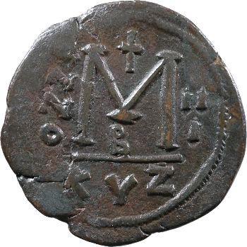 Justin II et Sophie, follis, Cyzique, 567-568