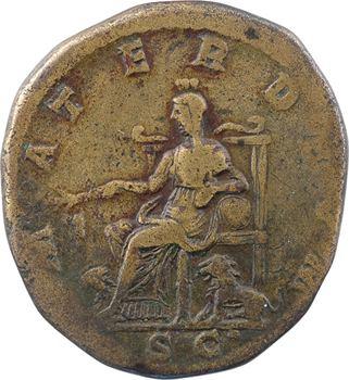 Julia Soemias, sesterce, Rome, 220
