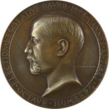 Prud'homme (G.-H.) : Octave Homberg, échec aux Législatives, 1928 Paris
