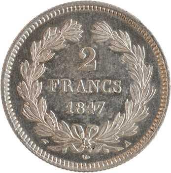 Louis-Philippe Ier, 2 francs, 1847 Paris