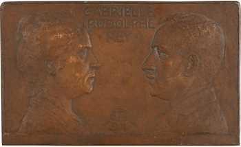 Pommier (A.) / Algérie : Gabrielle et Rodolphe Rey, fonte, 1921