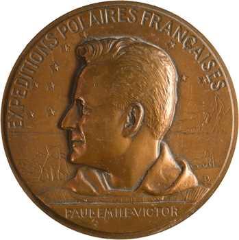 Aéronautique, Paul-Émile Victor et les expéditions polaires françaises, par Bazor, s.d. (1991) Paris