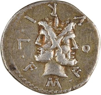 Furia, denier, Rome, 119 av. J.-C