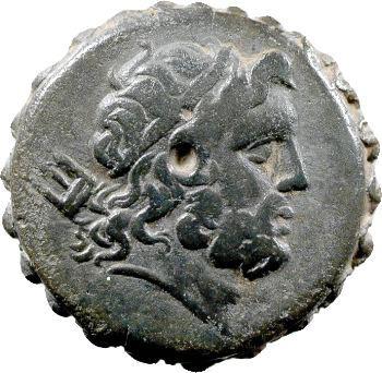 Macédoine, bronze dentelé, 187-168 av. J.-C. (sous Philippe V et Perseus)