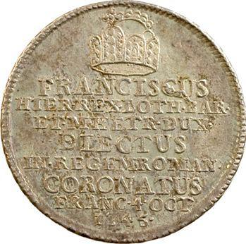 Autriche, François Ier, couronnement impérial à Francfort, 1745