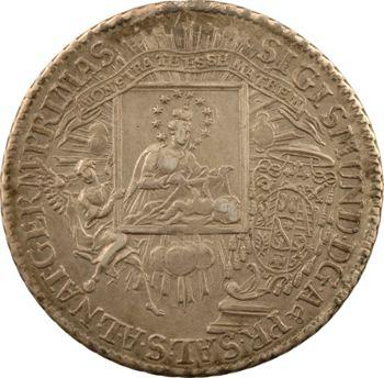 Autriche, Salzbourg (archevêché de), Sigismond III de Schrattenbach, thaler, 1758