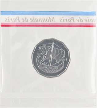 Chypre, essai de 5 mils (cents), 1982 Paris