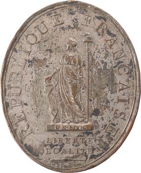 Convention, décoration des administrateurs de départements et districts, 1793