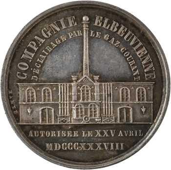 IIIe République, Compagnie d'éclairage au gaz d'Elbeuf, s.d. Paris
