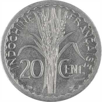 Indochine, 20 centièmes, 1945 Castelsarrasin