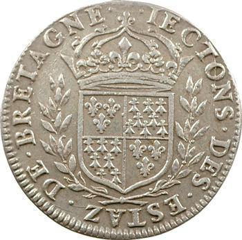 Bretagne (États de), jeton à l'hermine, s.d. (1657-1675)
