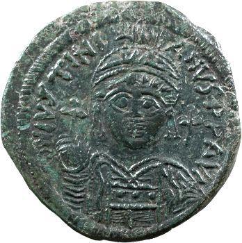 Justinien Ier, follis, Cyzique, 545-546