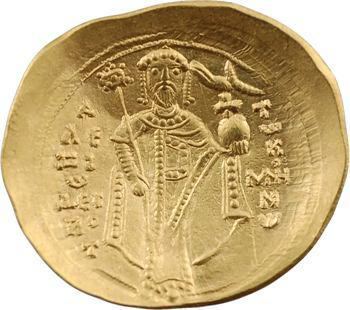Alexis Ier, hyperpyron scyphate, Constantinople, 1092-1118