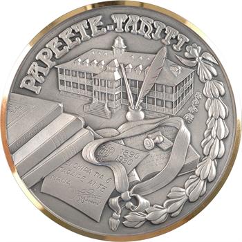 Nouvelle Calédonie/Tahiti, médaille du Conseil Municipal de Papeete, c. 1990 Saumur