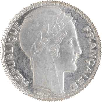 IIIe République, essai de 10 francs Turin, aluminium, 1938 Paris, poids lourd