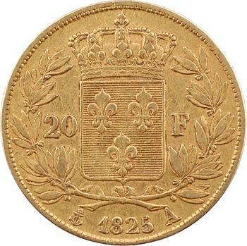 Charles X, 20 francs, 1825 Paris