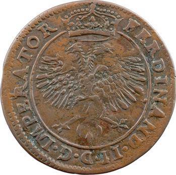 Franche-Comté, Besançon, jeton des services de comptes de la cité, 1630