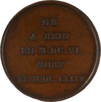 Louis XVIII/Pays-Bas, hommage à Rembrandt, par Simon, s.d. Paris