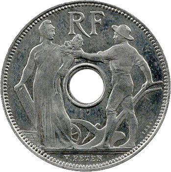 IIIe République, essai de 25 centimes par Peter, grand module, 1913 Paris