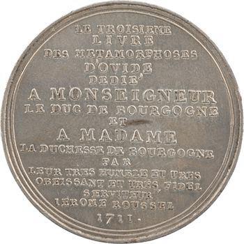Jérôme Roussel au duc de Bourgogne, 1711 (1860-1879) Paris