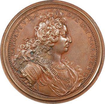 Hongrie, expulsion des Turcs de Hongrie, par Saint-Urbain, 1686 Nancy