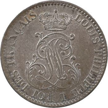 Guyane, Louis-Philippe, 10 centimes, 1846 Paris