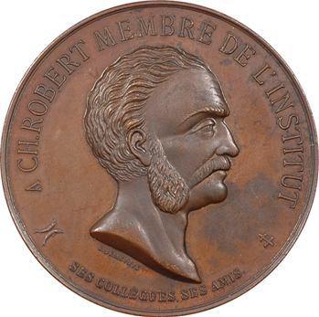 IIIe République, hommage au numismate Pierre Charles Robert, par Bellevoye, 1887 Paris