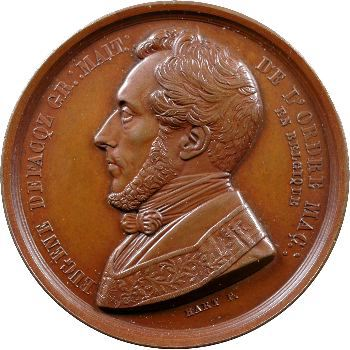 Belgique, Eugène Defacqz, Grand maître de l'ordre maçonnique, 5842 (1842)