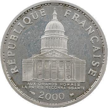 Ve République, 100 francs Panthéon BE, 2000 Pessac