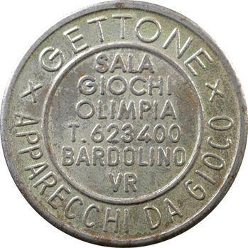 Italie, Vérone, jeton pour la salle de jeux Olimpia, s.d