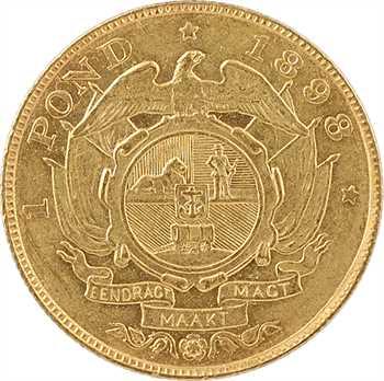 Afrique du Sud, République du Transvaal, 1 pond, 1898