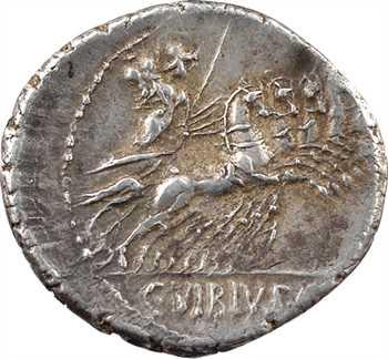 Vibia, denier, Rome, 90 av. J.-C.