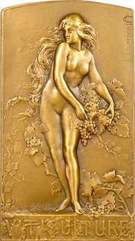 Coudray (L.) : la Vigne, plaque du Comité du Syndicat de viticulture, s.d. Paris