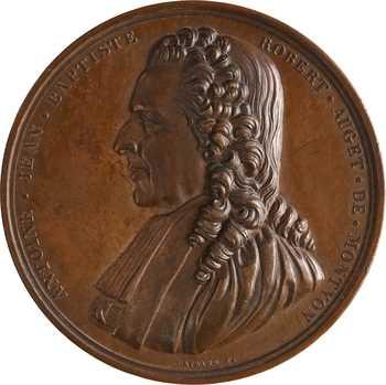 IIIe République, Antoine Montyon, le prix Camille Favre de l'Académie Française à Eugénie Delalé, 1887 Paris